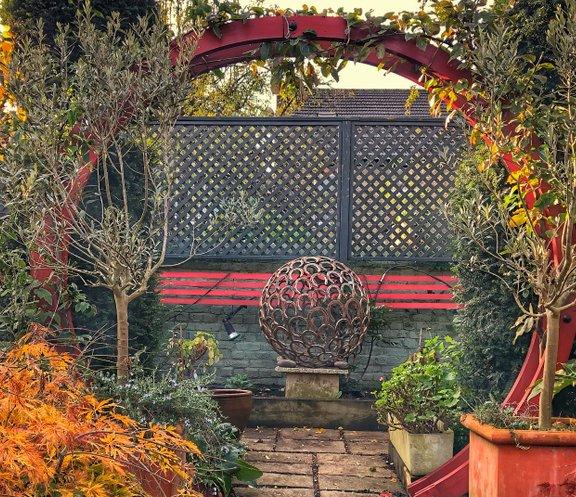 what is a sculpture garden
